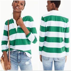 •J.CREW• 1984 Rugby Long Sleeve Stripe Shirt G8325